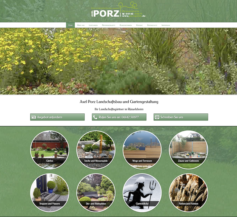 You are currently viewing Relaunch www.porzgmbh.de